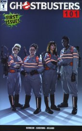 Ghostbusters 101 #1 Incentive Photo Cover Variant D