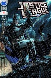 Justice League #1 SDCC Silver Foil Variant