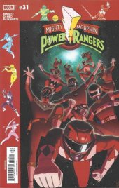 Mighty Morphin Power Rangers #31 Gibson Variant