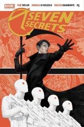 Seven Secrets #1 COVER ALPHA COMICS QISTINA KHALIDAH