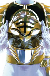 mighty morphin power rangers #40 pre-order foil montes variant