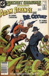 Secret Origins #17 Newsstand Edition