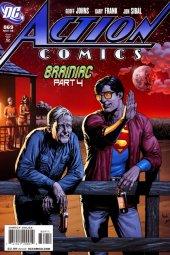 action comics #869