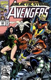 The Avengers #345 Original Cover