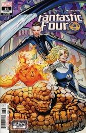Fantastic Four #16 Greg Land 2099 Variant