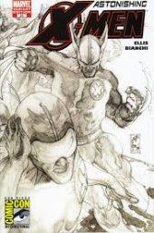 Astonishing X-Men #25 San Diego Comic Con Simone Bianchi Sketch Variant