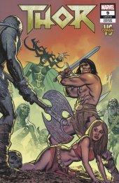 Thor #9 Smallwood Conan Vs Marvel Villains Variant