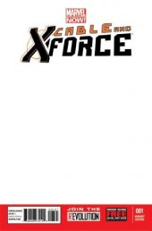 Cable and X-Force #1 Blank Variant