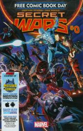 Secret Wars #0 Midtown Exclusive Custom Edition