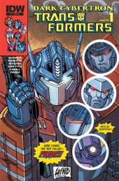 The Transformers: Dark Cybertron #1 Cover RE