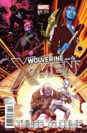 Wolverine and the X-Men #25 Mcguinness Variant