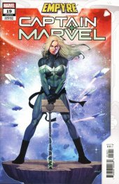 Captain Marvel #19 Olivetti Empyre Variant