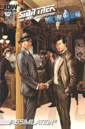 Star Trek: The Next Generation/Doctor Who: Assimilation2 #2 2nd Printing