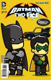 Batman and Robin #27 Scribblenauts Variant