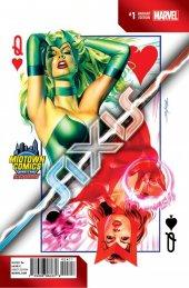 Avengers & X-Men: Axis #1 Midtown Comics Exclusive Variant