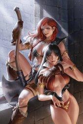 Vampirella / Red Sonja #8 Yoon Ltd Virgin Cover