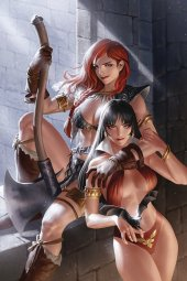 Vampirella / Red Sonja #8 Yoon Ltd Virgin Cover