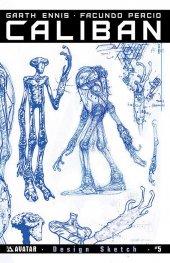 Caliban #5 Design Sketch