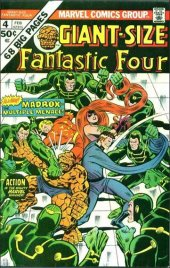 giant-size fantastic four #4