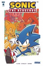 Sonic the Hedgehog #4 1:25 Incentive Variant