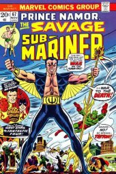Sub-Mariner #67 Original Cover