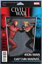 Civil War II: Choosing Sides #1 Christopher Action Figure Variant