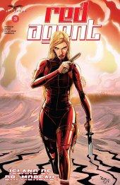 Red Agent: Island of Dr Moreau #3 Original Cover