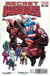 Secret Wars #1 ThinkGeek variant