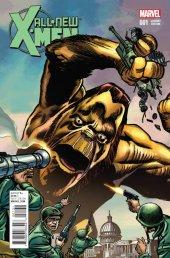 All-New X-Men #1 Kirby Monster Variant