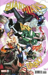 Guardians of the Galaxy #1 Pepe Larraz Party Variant