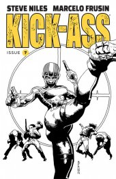 Kick-Ass #7 Cover B Frusin