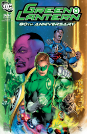 Green Lantern 80th Anniversary 100-Page Super Spectacular #1 2000s Variant Cover by Ivan Reis and Oclair Albert