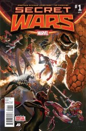 Secret Wars #1 Original Cover