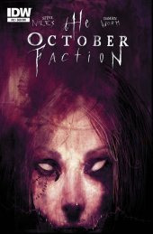 The October Faction #12 Subscription Variant