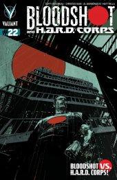 Bloodshot and H.A.R.D. Corps #22 Cover B De La Torre