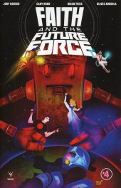 Faith And The Future Force #4 Cover C 1:10 Veregge
