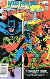 7.5 VF DC Key Issue Bronze Age Superman Batman Worlds Finest Comics #242 1976