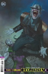 year of the villain: hell arisen #4 variant edition