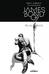 James Bond: Black Box #6 Cover D 1:10 Masters B&w In