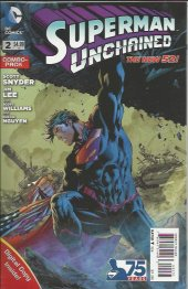 Superman Unchained #2 Combo-Pack  Variant