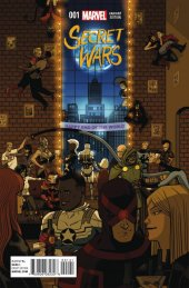 Secret Wars #1 Zdarsky Party Variant
