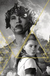 Horizon Zero Dawn #1 Cover J Artgerm Gold Ink 1:100