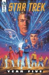 Star Trek: Year Five #1 Original Cover