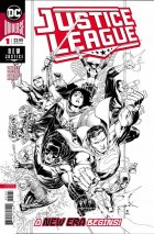 Justice League #1 1:100 Cheung Inked Variant
