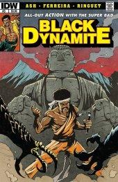 Black Dynamite #3 Original Cover