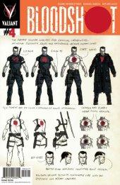 Bloodshot #4 Character Design Cover