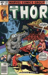 The Mighty Thor #289 Newsstand Edition
