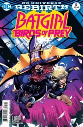 Batgirl and the Birds of Prey #5 Variant Edition