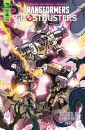 Transformers / Ghostbusters #4 Cover B Milne