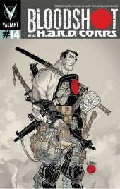 Bloodshot and H.A.R.D. Corps #14 Grampa Variant